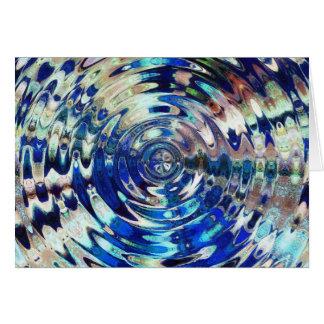 WATER Element Ripple Pattern Card
