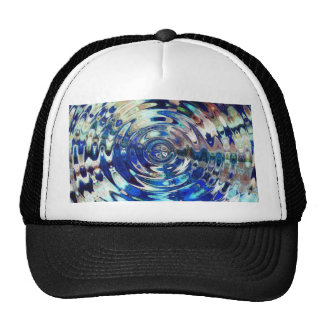 WATER Element Ripple Pattern Hat