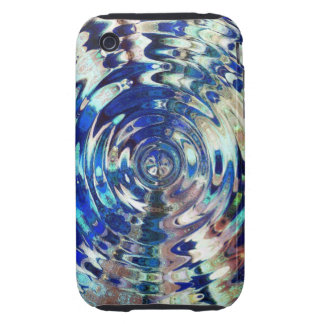 WATER Element Ripple Pattern iPhone 3 Tough Cover