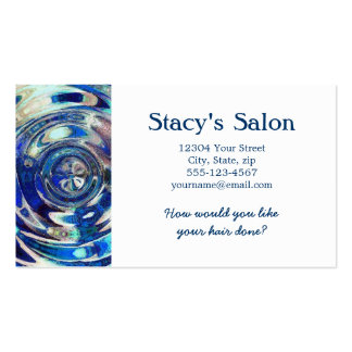 WATER Element Ripple Pattern Pack Of Standard Business Cards