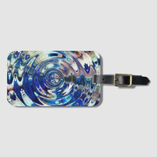 WATER Element Ripple Pattern Tags For Bags