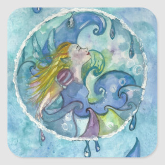 Water Elemental Fairy Stickers