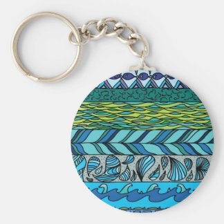 Water Elements Key Ring