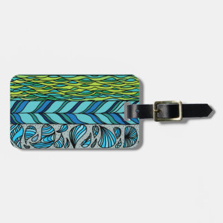 Water Elements Luggage Tag