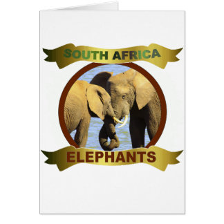 Water Elephants framed banner Card