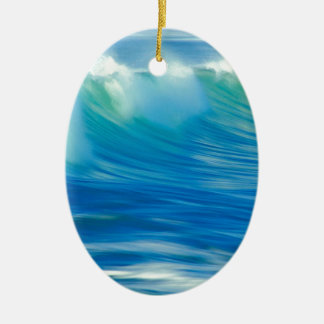 Water Emerald Wave Olympic National Park Christmas Ornament