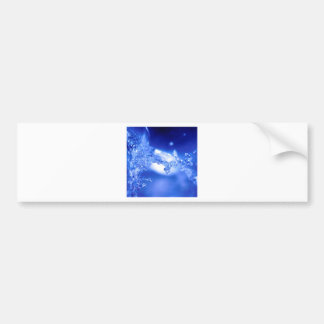 Water Exploding Water Bumper Sticker