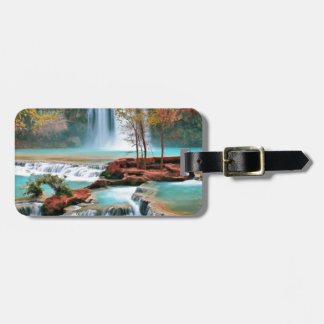 Water Fall Art Luggage Tag