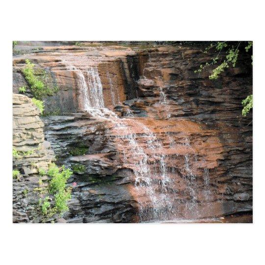 Water Fall Postcard