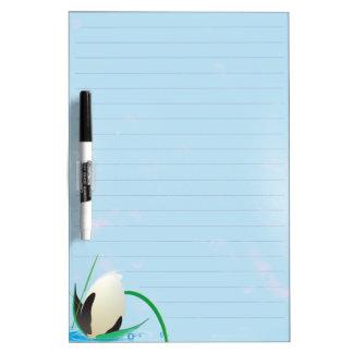 water flower dry eraseboard dry erase board