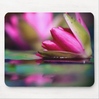 Water Flower Mouse Pad