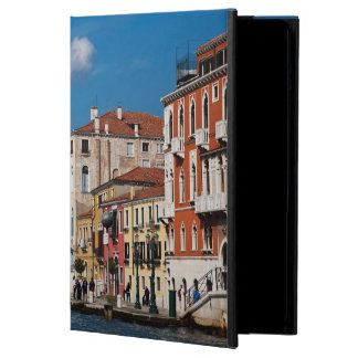 Water Front Along The Grand Canal Of Venice Cover For iPad Air