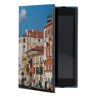 Water Front Along The Grand Canal Of Venice Covers For iPad Mini