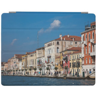 Water Front Along The Grand Canal Of Venice iPad Cover