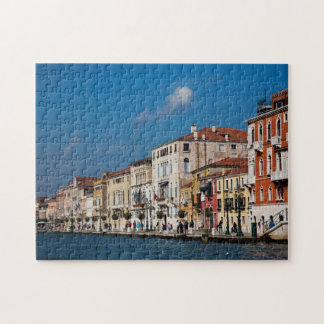 Water Front Along The Grand Canal Of Venice Puzzles