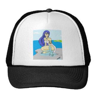 Water Goddess Trucker Hats