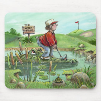 Water Hazard Mouse Pad