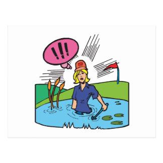 Water Hazard Postcard