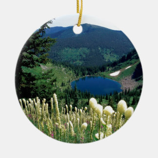 Water Hidden Lake Montana Christmas Ornament