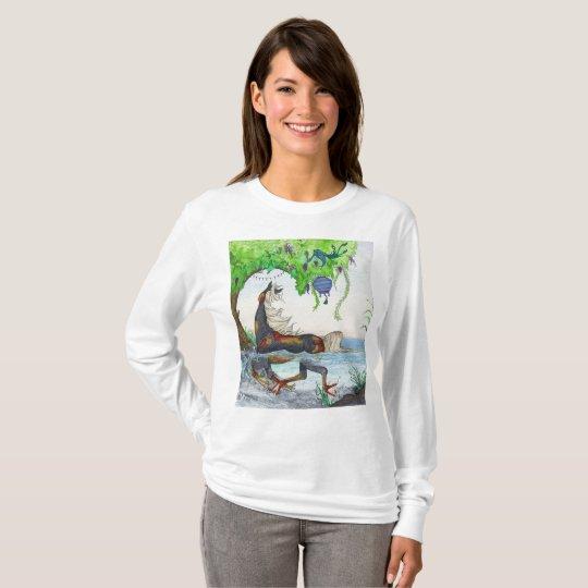 Water Horse Kelpie Koi Fish Bonsai Essence Shirt