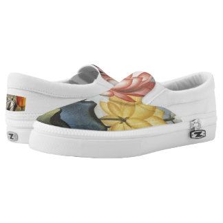 Water Hyacinths Slip On Shoes