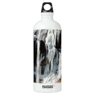 Water Ice Formation On Rocks SIGG Traveller 1.0L Water Bottle