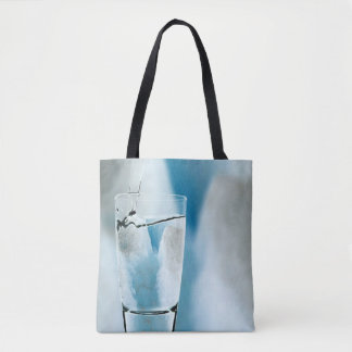 Water Iceberg Ice Blue Winter Tote Bag Purse