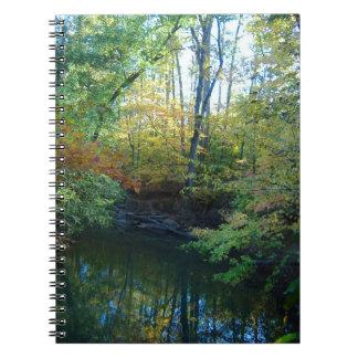 Water in Autumn Notebook