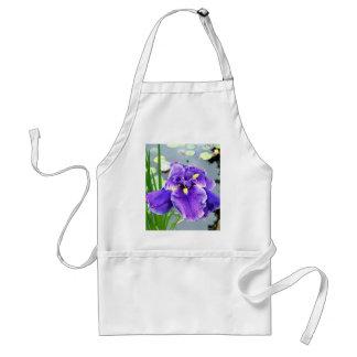 """Water Iris"" Standard Apron"
