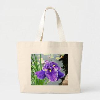 """""""Water Iris"""" Tote Bags"""