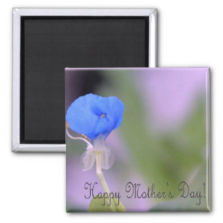 Water iris/ Happy Mother's Day! Square Magnet