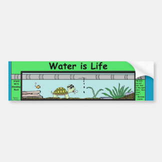 Water is Life Bumper Sticker