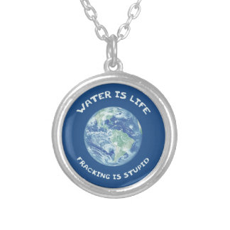 Water Is Life Custom Necklace