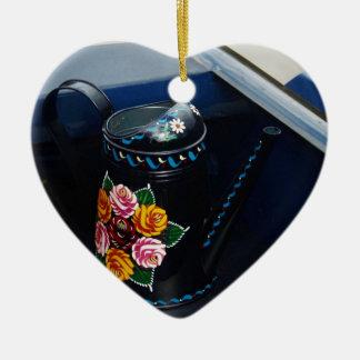 Water Jug Ceramic Heart Decoration