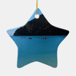 Water Kayaking Experience Christmas Ornament