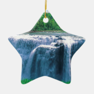 Water Letchworth State Park New York Christmas Ornament