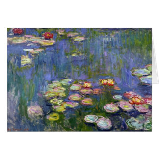 Water Lilies 10 Cards