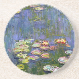 Water Lilies 10 Drink Coasters