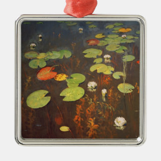Water Lilies 1895 Christmas Ornament