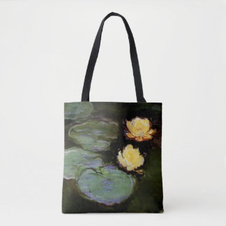 Water-Lilies: 1897-98 by Monet Tote Bag