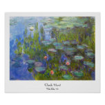 Water Lilies, 1915 Claude Monet cool, old, master,