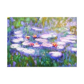 Water Lilies 1919 Claude Monet Fine Art Gallery Wrapped Canvas