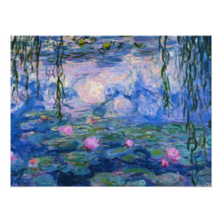 Water Lilies 1 Poster