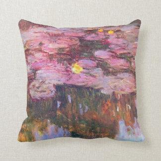 Water Lilies 3 Cushion