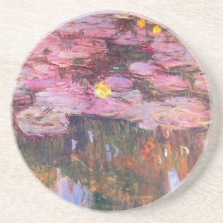 Water Lilies 3 Drink Coasters