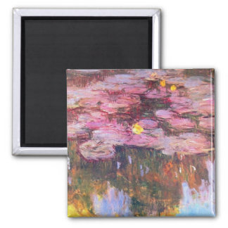 Water Lilies 3 Magnet