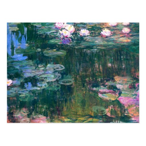 Water Lilies 5 Post Card