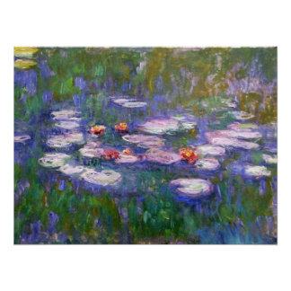 Water Lilies 8 Posters