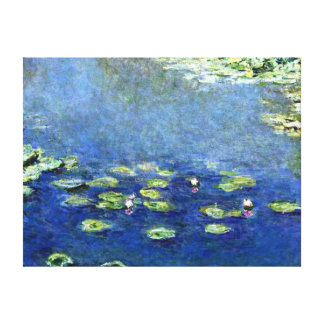Water Lilies 9 Canvas Print