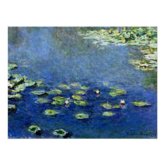 Water Lilies 9 Posters